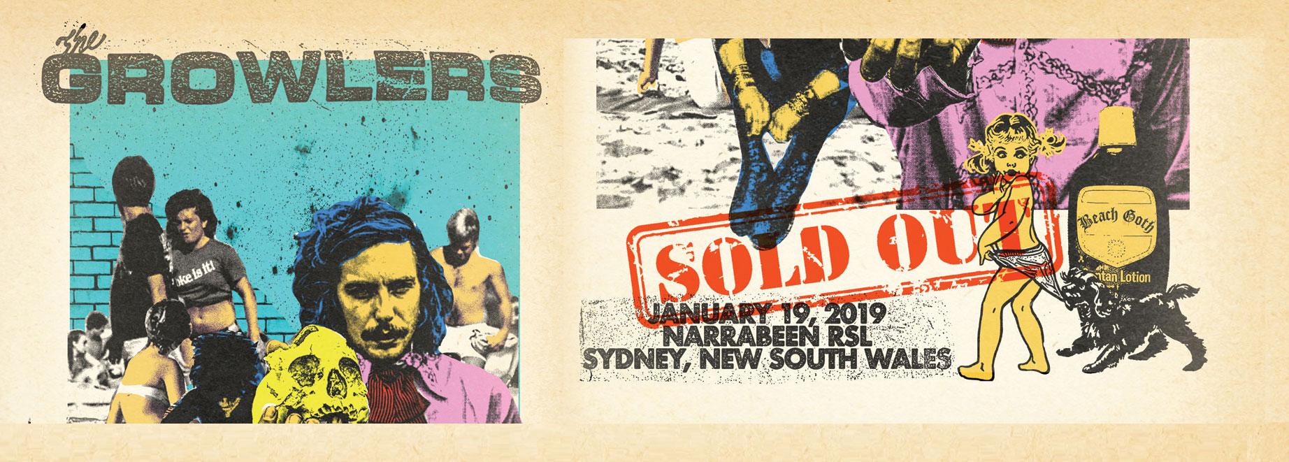 The Growlers - Beach Goth Tour - Australia - Sydney